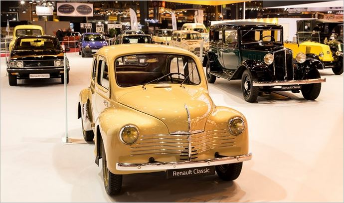 2018 Retromobile Show: Renault celebrates 120 years of 'Easy Life' motoring