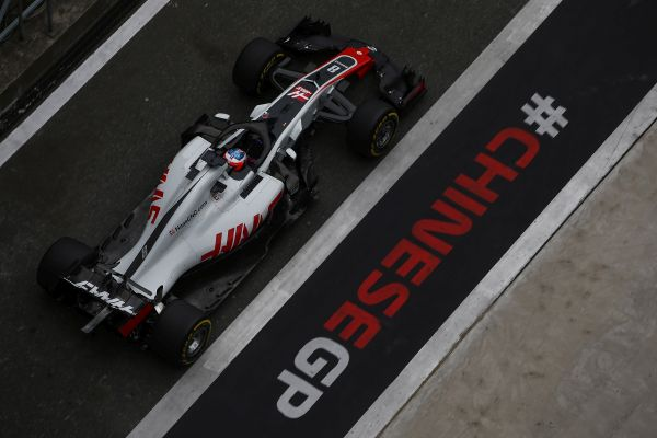 Haas F1 Team Chinese Grand-Prix practices