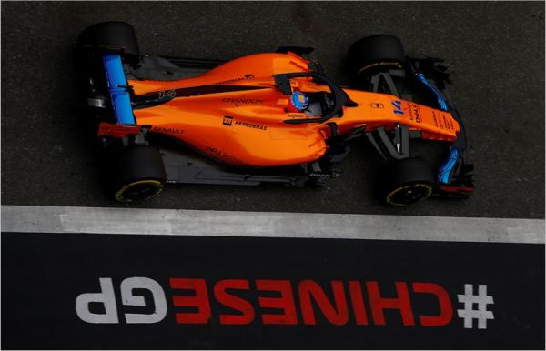 McLaren F1 Team Chinese Grand-Prix Friday practices