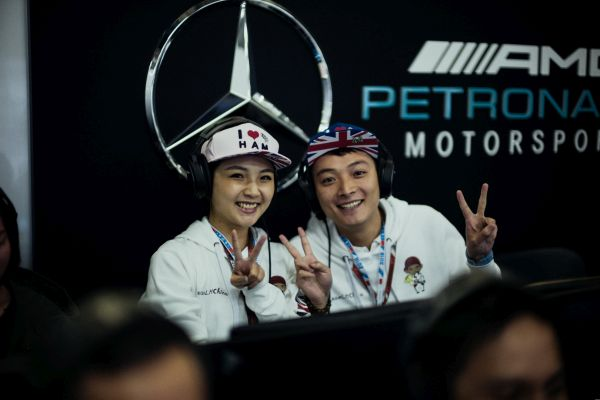 Mercedes AMG Petronas F1 Chinese Grand-Prix practices