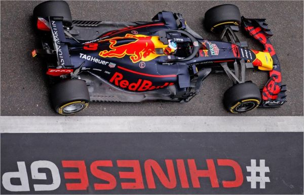 Red Bull Racing F1 Chinese Grand-Prix practices review