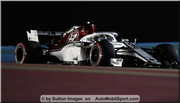 alfa romeo sauber f1 team bahrain grand prix race. Black Bedroom Furniture Sets. Home Design Ideas