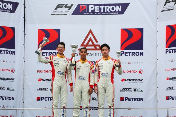 Muizz, Isyraff and Nazim bring cheers to fans on final day of F4 SEA finale