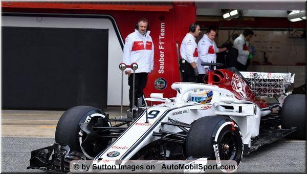 Alfa romeo sauber f1 team new head of communications for Garage alfa romeo 95