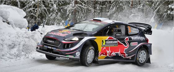 The challenge continues for M-Sport Ford at Rally Sweden