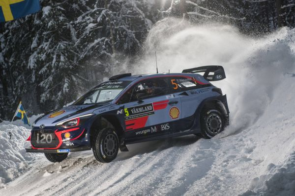 Sweden Rally Saturday Midday top 3 driver quotes