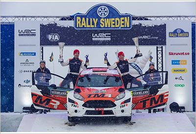 TOYOTA GAZOO Racing Rally Challenge Program celebrates excellent WRC2 win on Rally Sweden