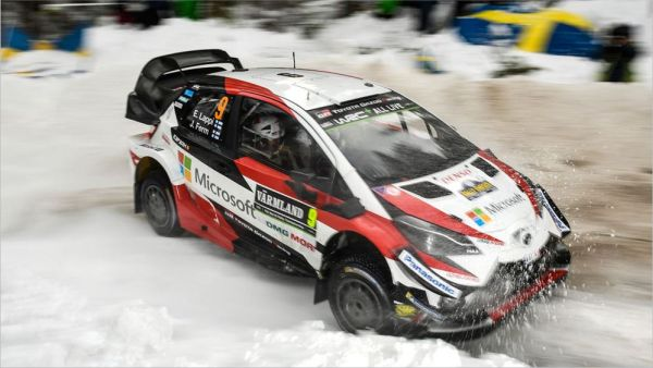 Early promise for Toyota hampered by tough conditions in Sweden