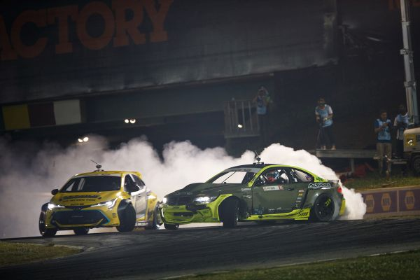 Kristaps Bluss scores first Formula Drift victory at Road Atlanta