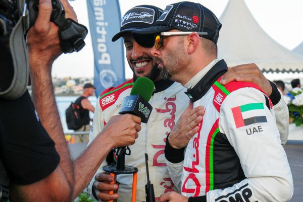 Torrente and Thani Al-Qemzi complete impressive 1-2 finish for Team Abu Dhabi in Portugal