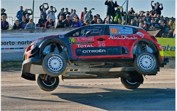 First notes from Vodafone Portugal Rally stage 2