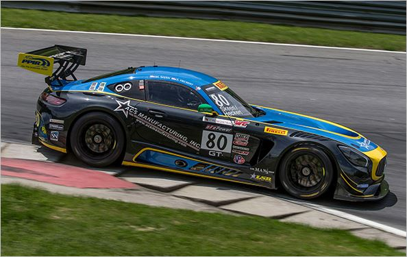 Lone Star Racing, Pirelli World Challenge at Lime Rock, qualifying
