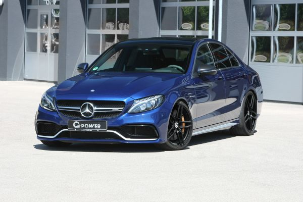 G-POWER C 63 S AMG: mid-size sedan with 600 HP thanks to software optimization