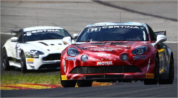 CMR sweeps GT4 European Series qualifying at Spa Francorchamps