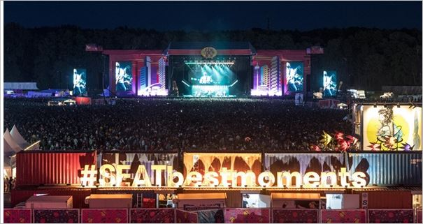 SEAT commits to music with Lollapalooza Paris and Berlin - Sponsor of the festival