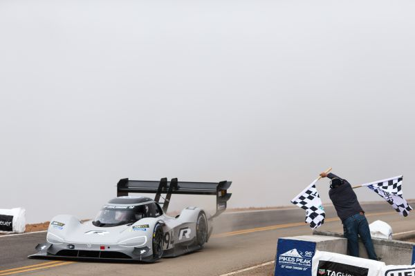 All-time record: Volkswagen makes history with the I.D. R Pikes Peak