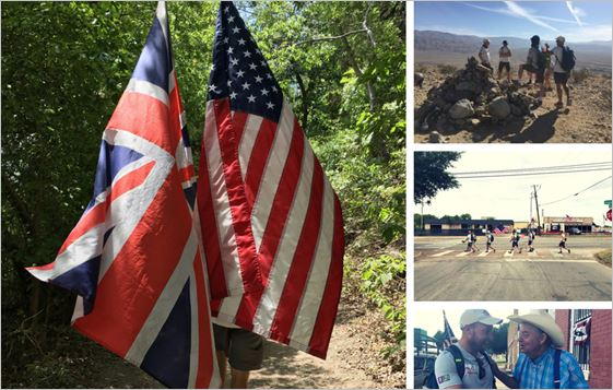 Walking with the Wounded:  The Walk Of America is officially underway...