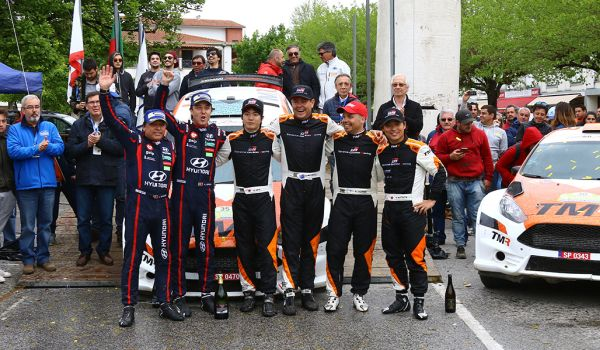 A win and a podium for TOYOTA GAZOO Racing Rally Challenge Program drivers in Portugal