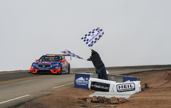 Acura TLX GT Cards Class Win and Third Overall at Pikes Peak