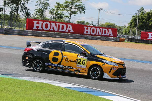 B-Quik Young Driver Programme digs in at Buriram