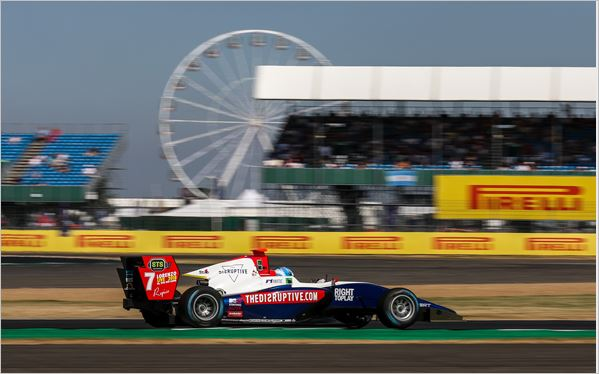 Trident Team Silverstone GP3 Feature race review