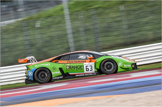 The GRT Grasser Racing Team Back in Action With a Podium in Misano