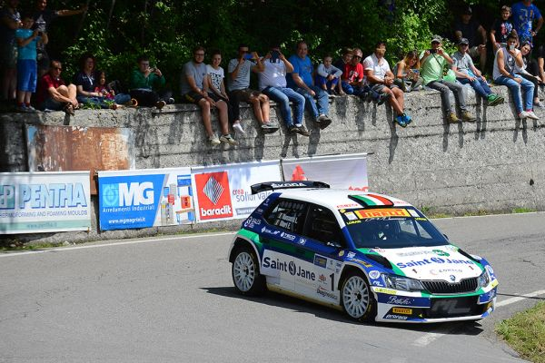 Rossetti: third win at Rally del Taro