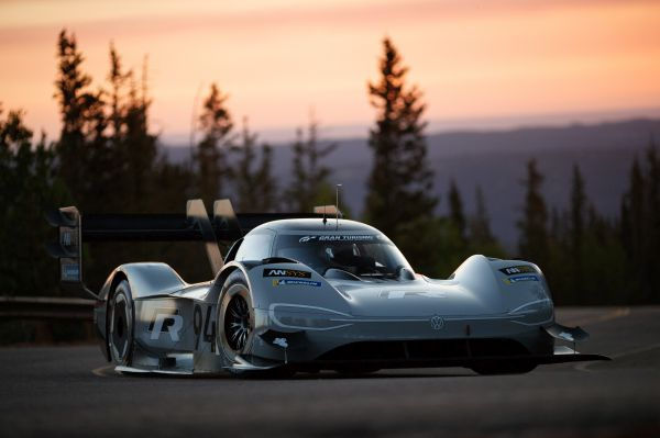 The I.D. R Pikes Peak to bear start number 94