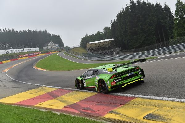 Imperiale Racing on the podium of International GT Open 2018 in Spa-Francorchamps