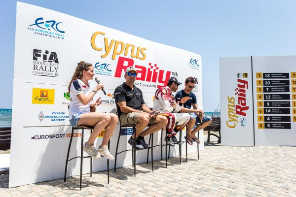 Cyprus Rally pre-event press conference