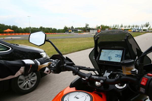 KTM - committed to improving Motorcycle Safety