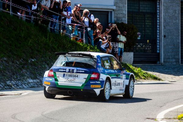 Rally Cup Pirelli-  Rossetti increases his leadership