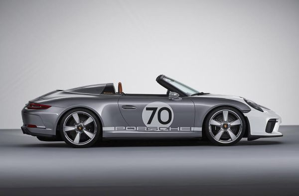 The Porsche 911 Speedster Concept Open Top Pure And With Over 500 Hp Automobilsport Com