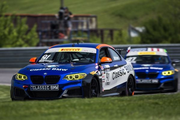 Pirelli World Challenge: BMW M235i Racing dominates at Lime Rock Park.