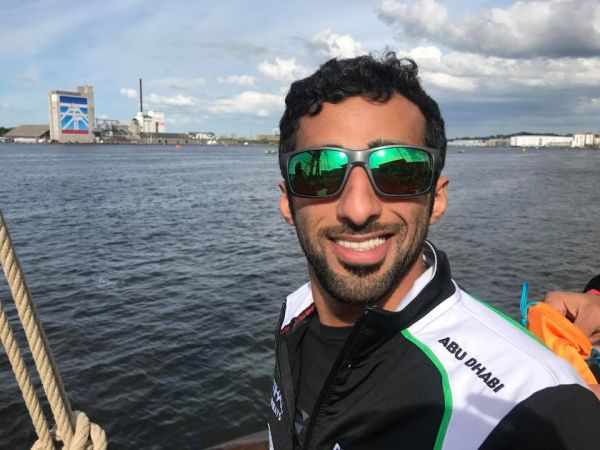 Team Abu Dhabi's Rashed Al-Qemzi storms into pole position for GP of Denmark