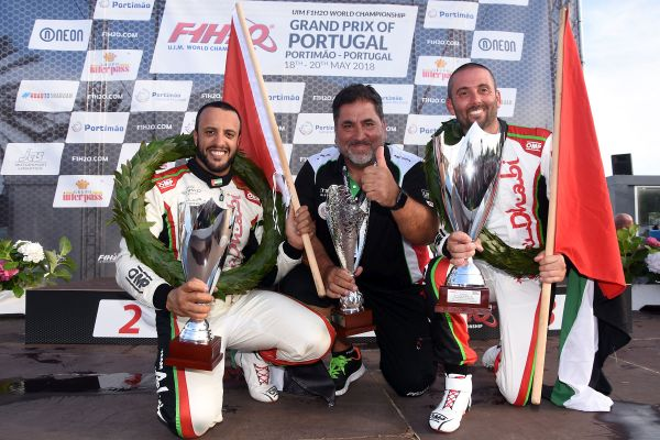 Team Abu Dhabi's Torrente and Al-Qemzi bid for success on London race circuit