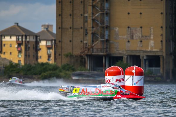 UIM F1 H2O Grand Prix of London race results and standings