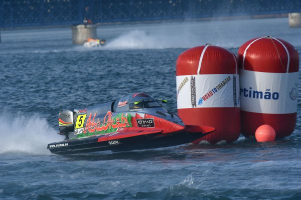 UIM F1 H2O Grand Prix of London entries - standings