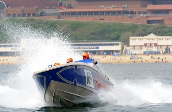 Fortitudo Property Poole Bay 100 Offshore Powerboat race results