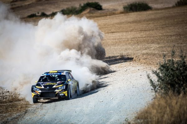 Final standings in Cyprus Rally 2018