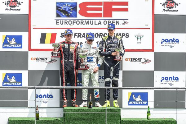 DRIVEX and Lukas Dunner claim double podium finish in Spa
