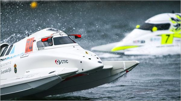 Erik Stark wins a pulsating UIM F1H2O Grand-Prix of London
