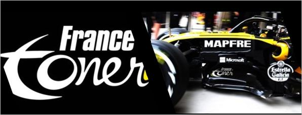 FRANCETONER.FR adds colour to Renault Sport Formula One Team