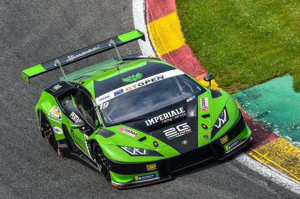Raffaele Giammaria close to the podium in International GT Open 2018 at Spa-Francorchamps