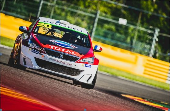 308 Racing Cup: Teddy Clairet and Julien Briché confirm early form with wins in Spa