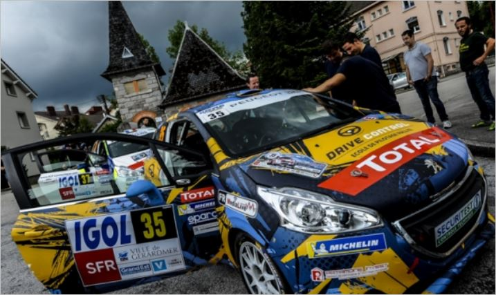 Peugeot 208 Rally Cup Rallye des Vosges result and classification