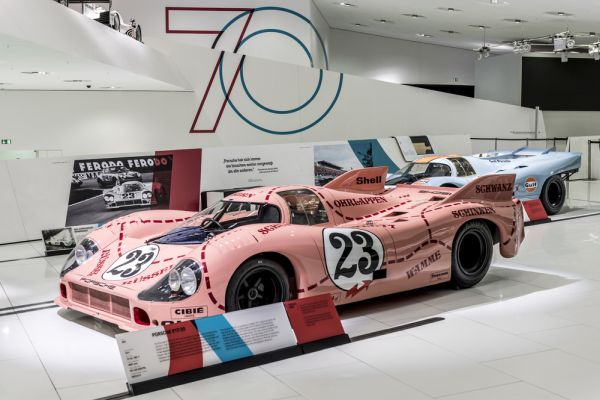 "Ceremonial opening of the ""70 Years Porsche Sportscar"" special exhibition"