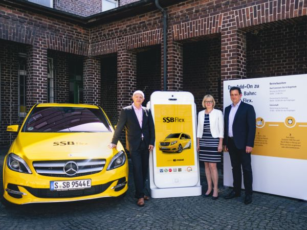 New mobility service SSB Flex to launch in Stuttgart on June 1, 2018