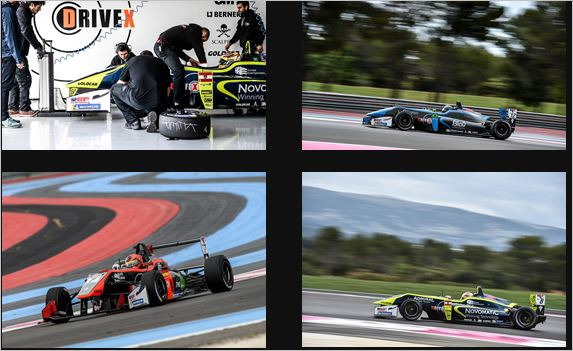 Lots of effort without reward for Drivex in the F3 Open