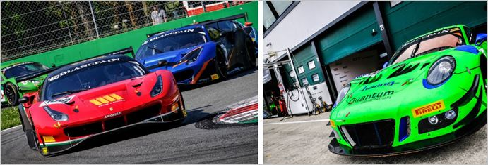 Blancpain GT Sports Club fired for SRO Speedweek at Spa Francorchamps